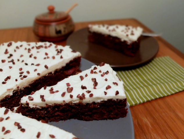 Kakao-Nib-Kirsch-Kuchen
